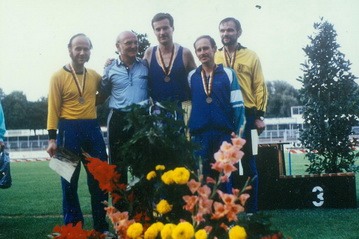 1991: Bronze in der 4x400m-Staffel